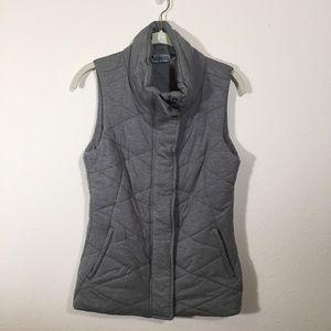 Athleta Jersey Puffer Vest
